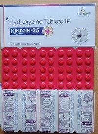 Hydroxyzine 10 mg, 25 mg, 75 mg