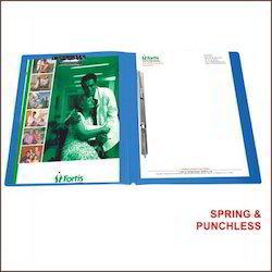 Spring & Punchless Clip File
