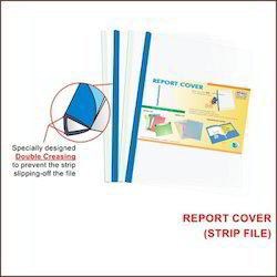 Report Cover Strip File