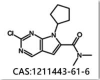 7H-Pyrrolo[23-d]pyriMidine-6-carboxaMide 2-chloro-7-cyclopentyl-NN-diMethyl 1211443-61-6