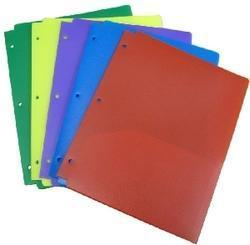 Plastic Document Folder