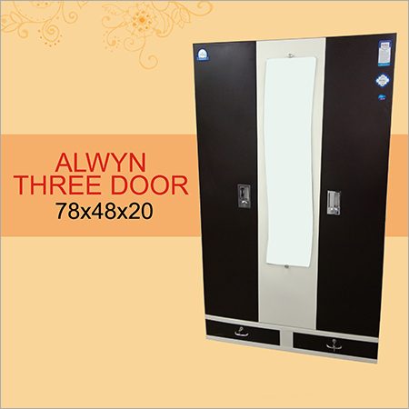 Alwyn Three Door Almirah
