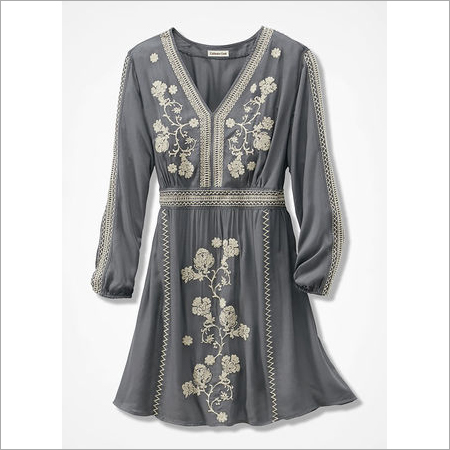 Embroidered Tom Cody Tunic