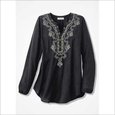 Spirit Embroidered Tunic