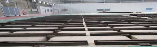 Cast iron Floor Clamping Rails