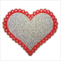 Thermocol glitter dil