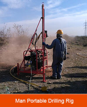HY-40F1 Man Portable Drilling Rig