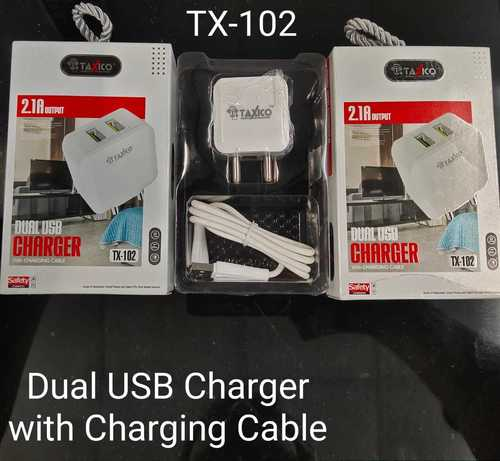 Tx -102  2.1amp Single Usb With Cable