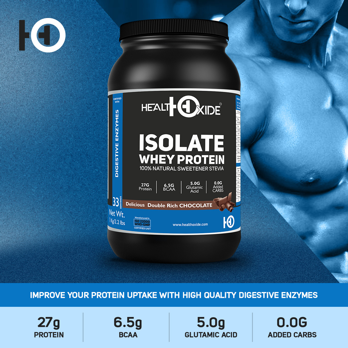 100% ISO-Whey Zero Carbs Protein Powder