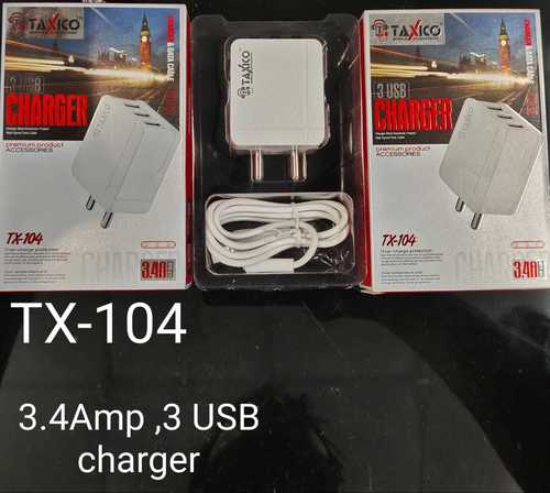 Tx-104 3 Usb Fast Charger
