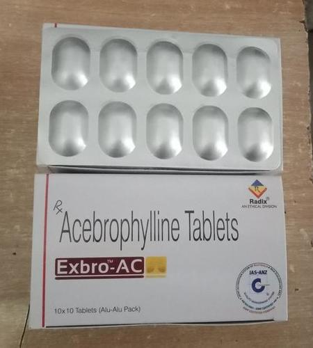 Acebrophylline 100 Mg Tablets