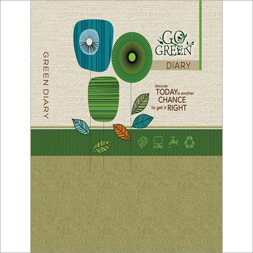 891 C Go Green Diary