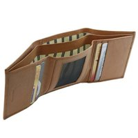 Genuine Leather Wallet Trifold
