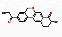 9-Bromo-3-(2-Bromo Acetyl)-10,11-Dihydro-5H-dibenzo(c,g) Chromen-8(9H)-one CAS No.1438383-89-1