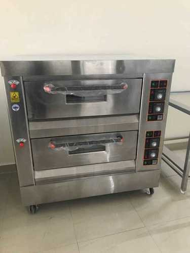 GAS BAKING OVEN 2 DECK