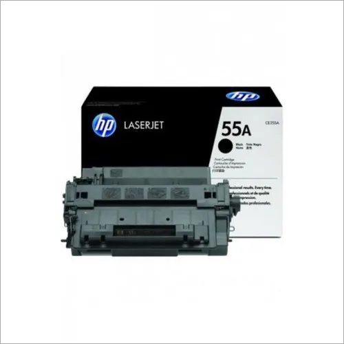HP 55A (CE255A) Black Original LaserJet Toner Cartridge