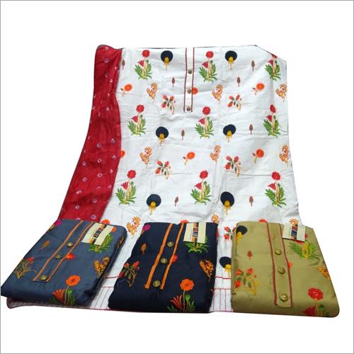 Printed Cotton Suit