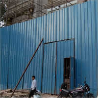 Corrugated Metal Fencing Sheet