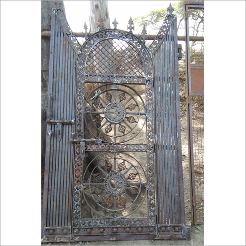 Iron Grill Gate