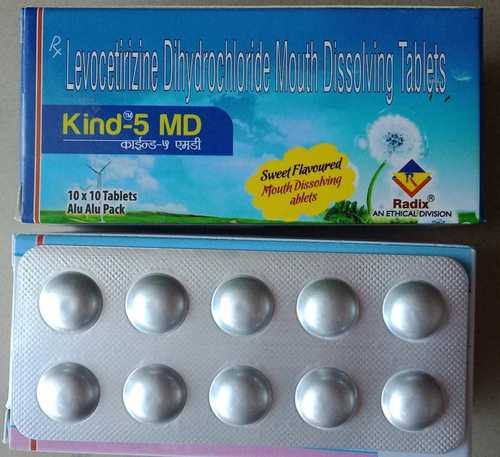 Levocetirizine 5 mg tablets