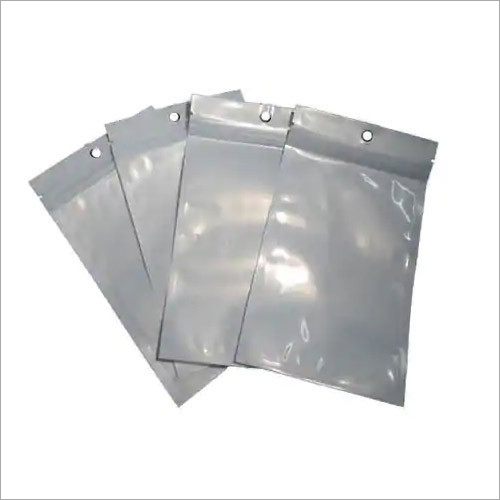 Silver Plain Laminated Pouch