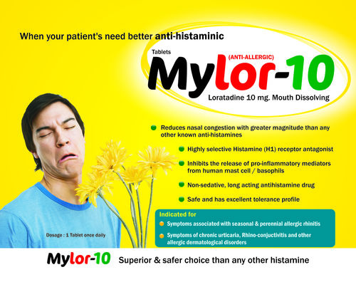 Loratadine 10 Mg (Mouth-Dissolving) Tablet