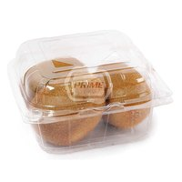 Transparent Clamshell Fruit punnet box