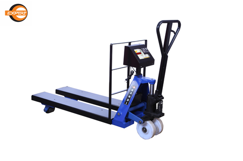 HYDRAULIC PALLET TRUCK (WITH ELECTRONIC WEIGHING SYSTEM)