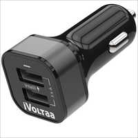 3.4A Dual Port Car Charger