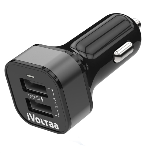 iVoltaa 3.4A Dual Port Car Type-C Charger