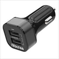 iVoltaa 3A Dual Port Car Charger