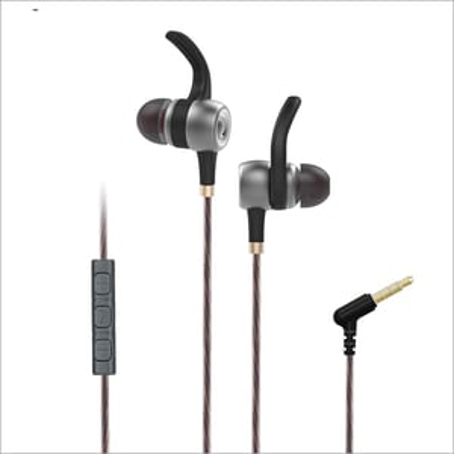 iVoltaa Earnetic E2 Metal Sports Wired Earphone