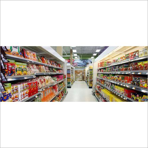 Supermarket Rack And Shelves