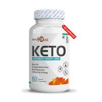 HealthOxide Keto Advanced Weight Loss Supplement Natural Fat Burner with Garcinia Cambogia Green Tea Green Coffee Black Pepper Extract Cinnamon bark extract (60 capsules)