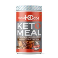 HealthOxide Ketogenic Diet - Perfect Meal Replacement Shakes for Good Health – 420 g (Chocolate)