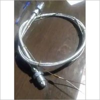 SS braided hose with safety rope H2 bullnose