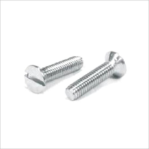 SS Slotted CSK Screw
