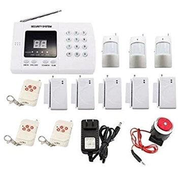4Zn Wired Security Burglar Alarm Control Panel