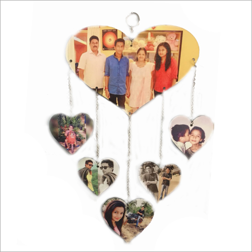Sublimation Heart Hanging
