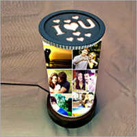 15 Inch Customize Round Rotated Lamp