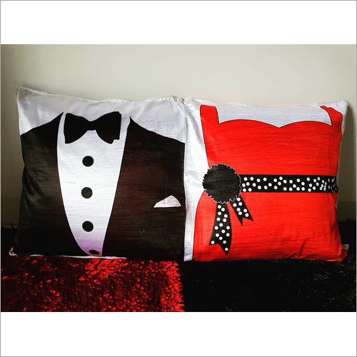 16 inch Customize Square Couple Cushion