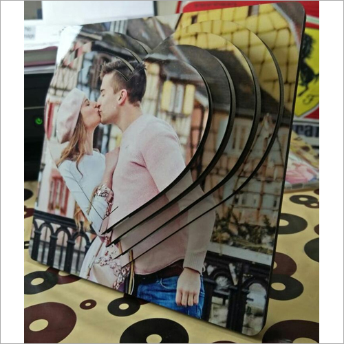 8 inch Sublimation 3D Frame