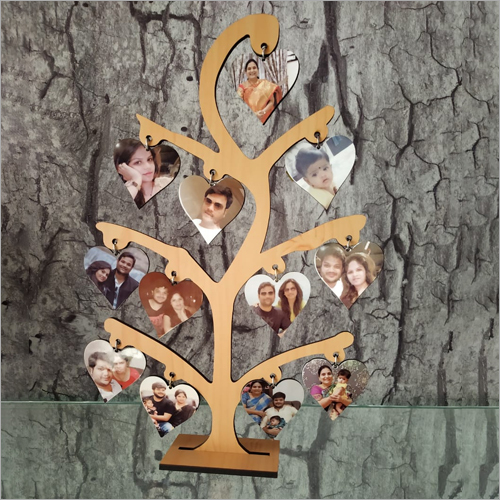 8x13 inch Sublimation Wooden Tree