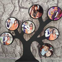 Sublimation Wooden Tree Photo Frame