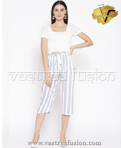 Ladies Linning Cotton Pant