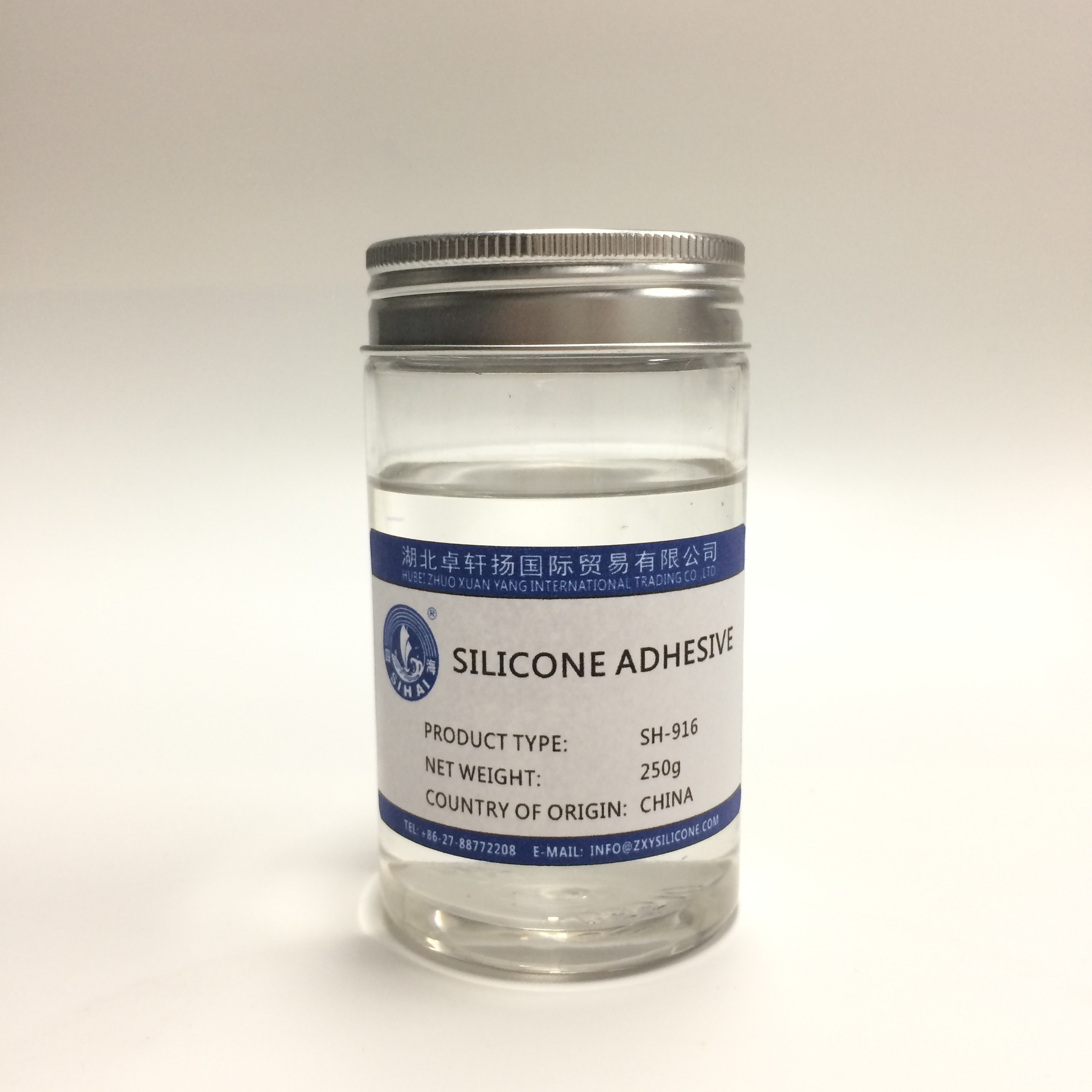 Polyester film tape special coating glue silicone adhesive for high temperature resistant tape