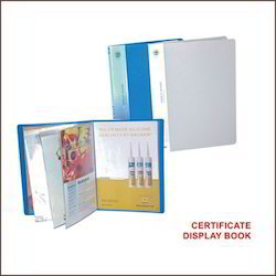 Certificate Display Books