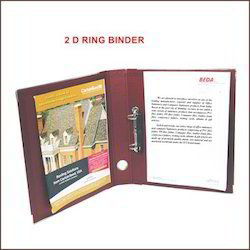 Two D Ring Binder