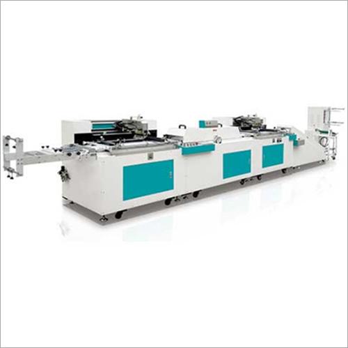 Garment Label Screen Printing Machine