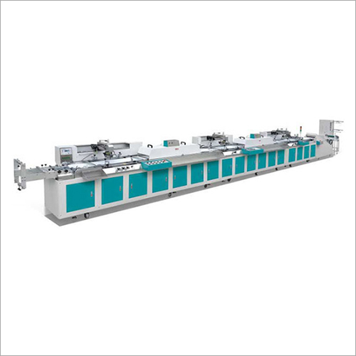 Textile Tape Screen Printing Machine